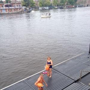 Een fijne zwemtocht in onze mooie Amstel