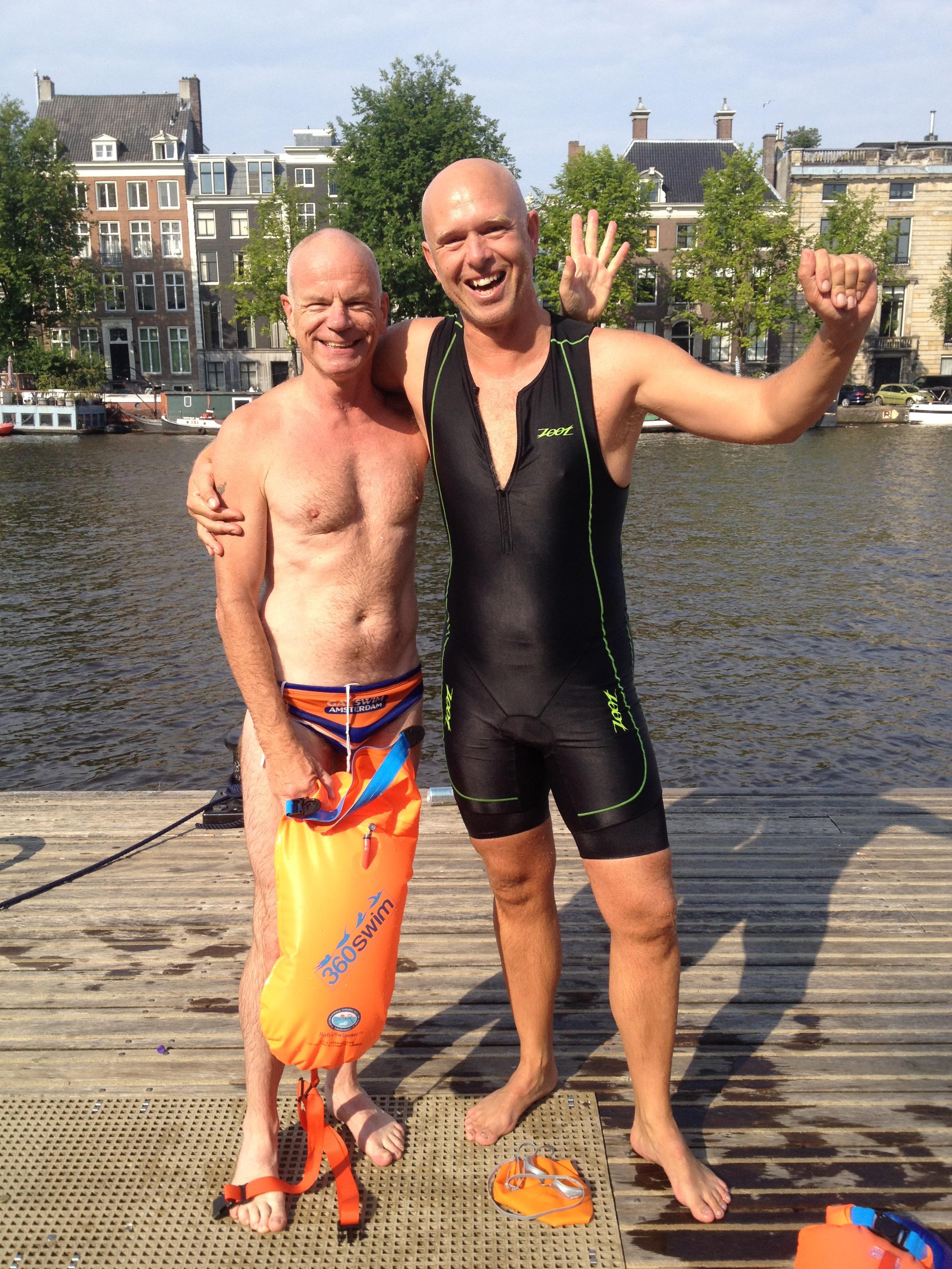 from Kingsley is louie van amstel gay