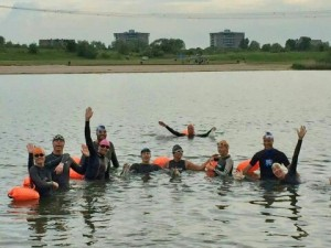 Zwemtraining in IJburg
